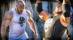 "Bodybuilder Johannes Luckas gets challenged by Strongman Tetzel from the German Hardcore Gym ""Halbgottschmiede"". So here we go in STRENGTH WARS - Bodybuil. Plyometrics, Calisthenics, Bodybuilding Training, Bodybuilding Motivation, Healthy Man, Healthy Foods, Body Weight Training, Ten, Powerlifting"