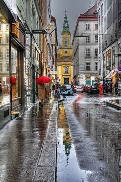 Reflections of Vienna, Austria