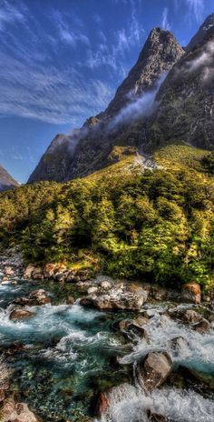 Hollyford Valley is a valley in Fiordland, New Zealand, in the southwest of the South Island. It is named for the Hollyford River, which runs north-north-west along its length from the Southern Alps to the Tasman Sea. Beech forest dominates both the slopes and the bottom of the valley.