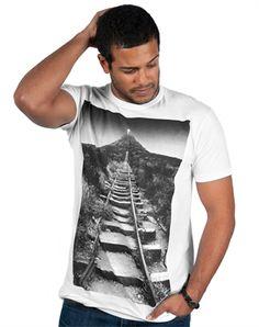 Romans Railroad - Christian Mens Shirts for $22.99 | C28.com