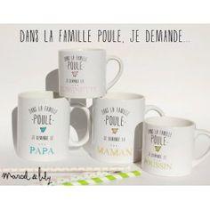 "Mug ""Famille Poule"""