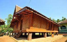 Rumah Adat Jawa Barat Rumah Sunda Arsitektur Rumah Desain Rumah