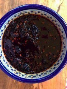 Salsa de Chile Morita y Ajo Tostado