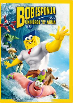 Bob Esponja: un héroe fuera del agua - Enlace al catálogo: http://benasque.aragob.es/cgi-bin/abnetop?ACC=DOSEARCH&xsqf99=763039