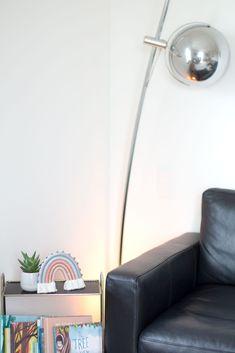 Grey, blue, pink and gold pastel rainbow, wall hanging, fibre art Rainbow Wall, Fibre Art, Desk Lamp, Pink And Gold, Etsy Seller, Fiber, Pastel, Room Decor, Rainbows