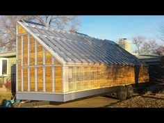 HD: The mobile solar wood kiln big reveal. Wood Mill, Lumber Mill, Solar Kiln, Alaska Homestead, Solar Power Energy, Kiln Dried Wood, Wood Shed, Woodworking Workshop, Tiny House Plans