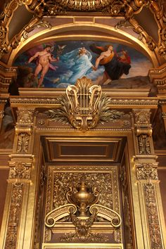 Gilded Details Of The Opera Garnier | Paris | France | Photo By Laura Bellamy