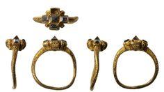 Diamond Tudor Era ring found in a field near Aylsham.