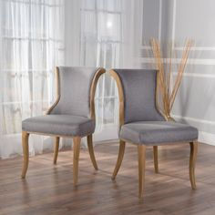 Best Selling Home Alexandria Fabric Dining Chair - Set of 2 - 299510