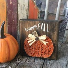 Happy Fall Pumpkin String Art String Art Gallery Ideas] The post Happy Fall Pumpkin String Art appeared first on Decors. Thanksgiving Crafts, Fall Crafts, Halloween Crafts, Holiday Crafts, Arts And Crafts, String Art Templates, String Art Patterns, String Art Tutorials, Cute Crafts