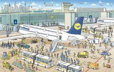 Lufthansa Passengers on Tour - Serviceplan Group