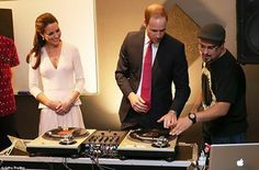 #AUSTRALIA / Daily Mail NEWS / April 23rd, 2014 / Duke and Duchess learn to DJ: William and Kate hit the decks in Adelaide as they visit suburb named after the Queen / Read more: http://www.dailymail.co.uk/news/article-2610861/Kate-William-arrive-Adelaide-view-youth-demonstrations-music-street-art-skateboarding.html#ixzz2zi4Vcx6X