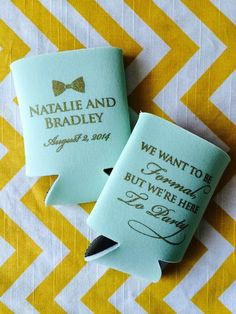 The Most Por Wedding Design For Your Koozies