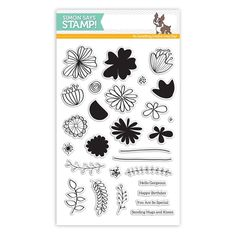 Simon Says Clear Stamps WILD BEAUTY SSS101625 My Favorite at Simon Says STAMP!