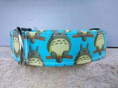 Totoro Dog Collar My Neighbor Totoro Dog Collar by DogDroolDesigns