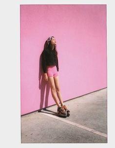 imogenebarron1:  Pink wall #2