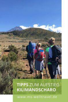 Eine Gipfelstürmerin erzählt von ihrem Aufstieg zum Kilimandscharo. Nützliche Tipps!