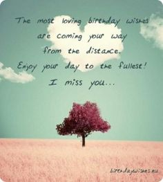 Messages for the man i love birthday quotes pinterest birthday afbeeldingsresultaat voor birthday wishes distance m4hsunfo