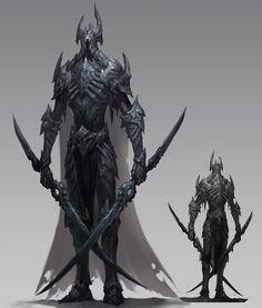 ArtStation - The Tomb Guardian, Tooth Wu Fantasy Armor, Medieval Fantasy, Dark Fantasy Art, Armor Concept, Concept Art, Fantasy Character Design, Character Art, Personajes Studio Ghibli, Ancient Tomb