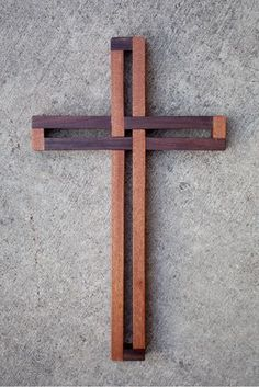 Seven DIY Cross Designs I've bundled seven of my popular cross woodworking plans together and discounted them so now you can buy seven plans for the price of four! All seven of these cross plans are s Fine Woodworking, Woodworking Projects, Woodworking Workbench, Garage Workbench, Woodworking Skills, Popular Woodworking, Unity Cross, Cross Symbol, Wood Shop Projects