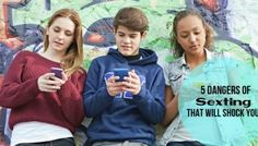 5 Dangers of Sexting Graphic
