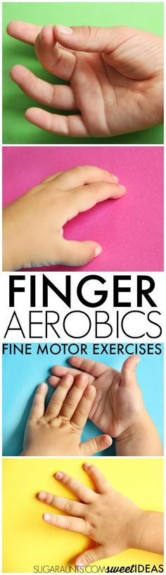 Use finger aerobics in the classroom, home or therapy clinic to work on fine…