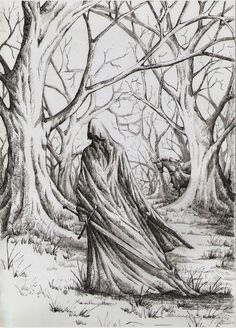 Nazgul by AnotherStranger-Me Watch Report Fan Art / Traditional Art / Drawings / Books & Novels©2014-2018 AnotherStranger-Me #khamul #mordor #nazgul #ringwraith