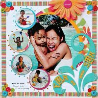 Gallery Projects - Scrapbooking - 12x12 - Two Peas in a Bucket