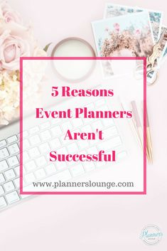 From lackluster websites to lack of education, there are 5 main reasons that event planners don& succeed. Learn what they are and how to avoid them so that you can have a successful and sustainable event planning business! {via Planner& Lounge} Event Planning Tips, Event Planning Business, Wedding Planning, Wedding Advice, Business Ideas, Event Ideas, Reception Ideas, Wedding Reception, Becoming An Event Planner