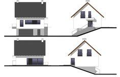 Projekt domu Dom na Stoku 5 T, wizualizacja 3