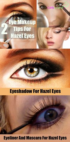 2 Ways To Do Eye Makeup For Hazel Eyes