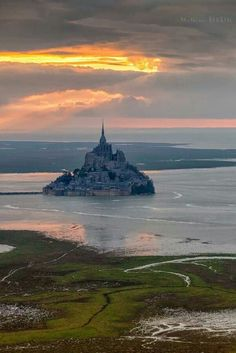 Mount St Michael,  Normandy, France