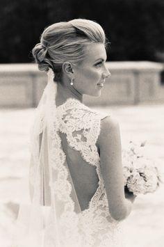 French, Chic Wedding Inspiration I Monique Lhuillier Scarlett Gown I Chic Parisien I cpbride.com/blog