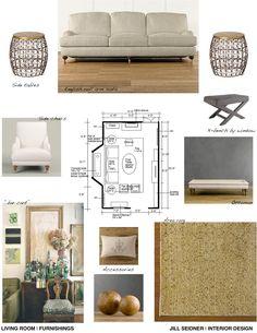 Furniture Design Presentation Board bedroom presentation board. window treatment, furniture, color