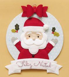 Noel Christmas Door Decorations, Felt Christmas Ornaments, Handmade Christmas, Christmas Stockings, Holiday Decor, Christmas Makes, Beautiful Christmas, Christmas Christmas, Felt Crafts