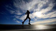Jogging 1366x768 wallpaper