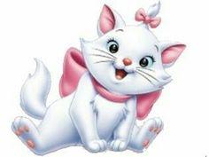 the aristocats marie Chats Disney, Disney Cats, Disney Cartoons, Disney Pixar, Disney Fan Art, Baby Disney, Disney Love, Disney Magic, Images Disney