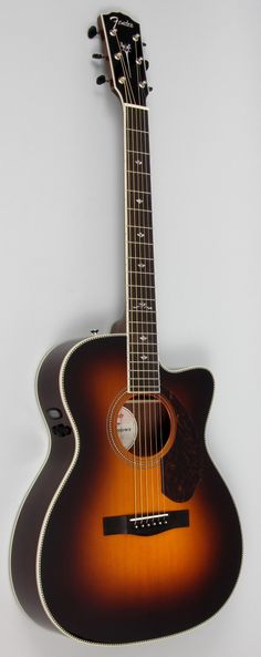 Premium All-purpose Acoustic from Fender The Paramount Series from Fender brings instruments to the table that are designed to bring your playing to the next level. Featuring all solid wood constructi