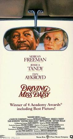 Directed by Bruce Beresford.  With Morgan Freeman, Jessica Tandy, Dan Aykroyd, Patti LuPone. An old Jewish woman and her African-American chauffeur in the American South have a relationship that grows and improves over the years.