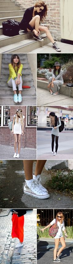Fashion + Chuck Taylors