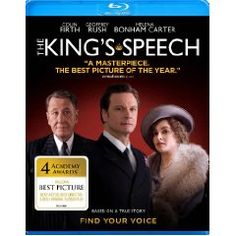 The King's Speech. ..a great drama about how determination can overcome disability