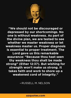 """...master weakness"