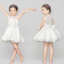 2016 flower girl dress/new model girl dress/Children girl dress