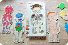Anatomy Puzzle & DIY Interactive Puppets  (Inside of the BODY Unit Study), Montessori, Anatomy, LeapFrog, Beleduc, Puzzle, Books, homeschool, Organ Anatomy, early childhood education, body systems, science, Zoology, parenting