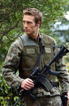 Vaughn from Alias - Michael Vartan as Boy Scout... ALIAS is my ALL time favorite!