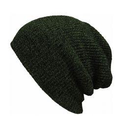 4622e84749103 Gorros de Invierno Sombrero Unisex Liso de Color Sólido Caliente Suave de  la Gorrita Tejida cráneo Gorro de lana Sombreros de Punto Touca gorro Gorras  Para ...