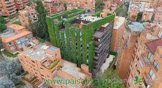 El jardín vertical más grande del mundo en Bogotá (Colombia)
