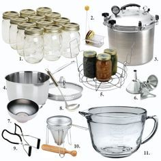 Checklist: The Essentials Tools for Home Canning Home Canning Equipment — Home Canning Tools Home Canning Recipes, Canning Tips, Canning Kitchen Ideas, Canning Food Preservation, Preserving Food, Canning Equipment, Canning Vegetables, Canned Food Storage, Pressure Canning