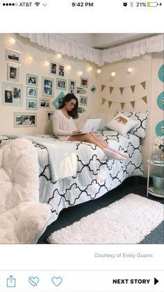 Dorm Room Design And Decor Exhibition Girls Bedroom, Bedroom Decor, Bedrooms, Dorm Room Designs, College Dorm Rooms, Dream Rooms, Dorm Decorations, My Room, Room Inspiration