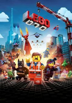 Fan-poster The Lego Movie inch Movie Poster (THICK) - Chris Pratt, Elizabeth Banks, Will Arnett -- Awesome products selected by Anna Churchill Lego Film, Lego Movie 2, Will Ferrell, Charlie Day, Disney Pixar, Will Arnett, Elizabeth Banks, Streaming Hd, Streaming Movies